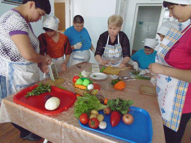 Кулинарные занятия