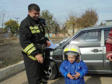 Пожарники в гостях