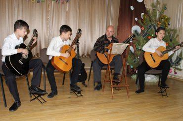 Новогодний концерт детской школы искусств г.Прохладного